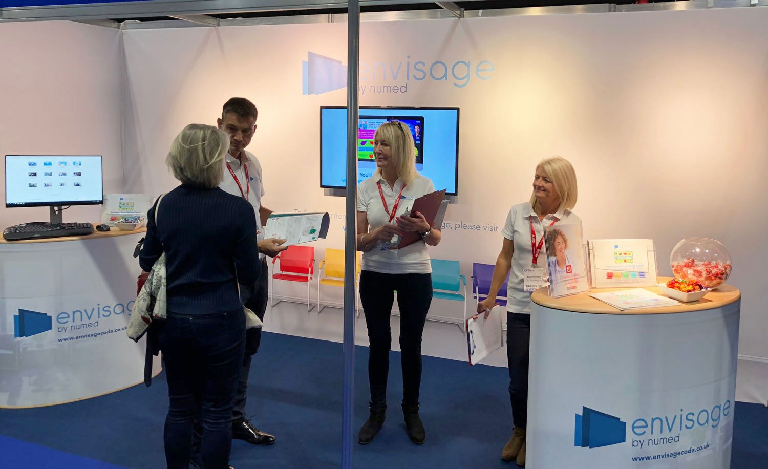 envisage by numed at best practice conference front