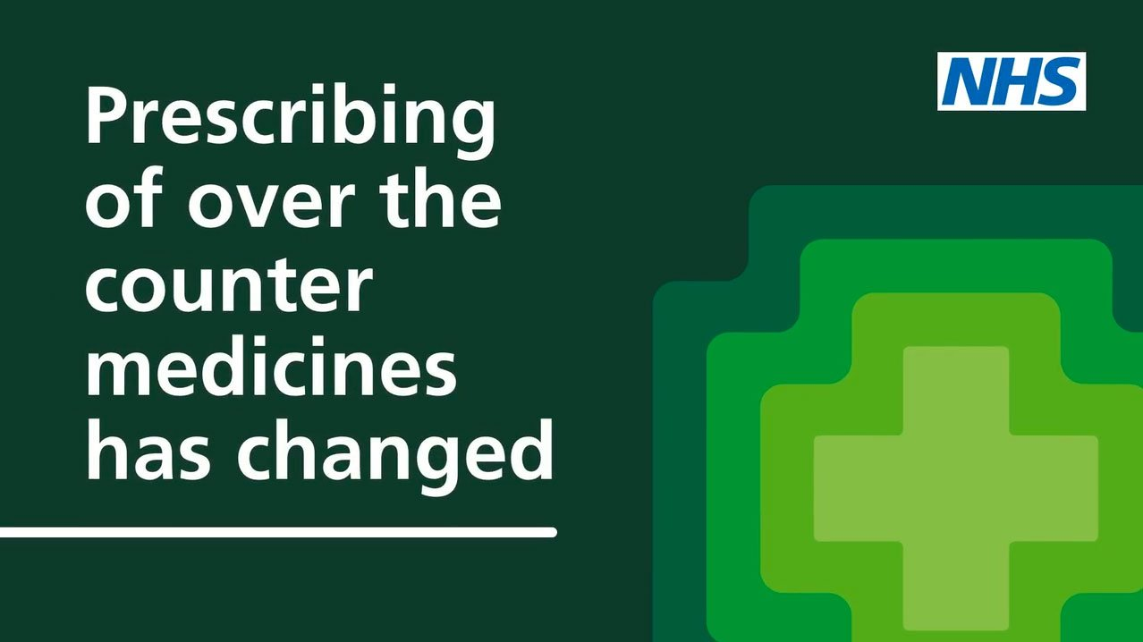Over the counter prescribing guidance for patients