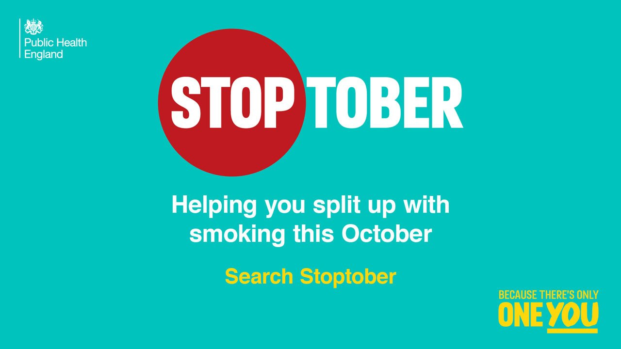 Encourage your patients to quit smoking this Stoptober